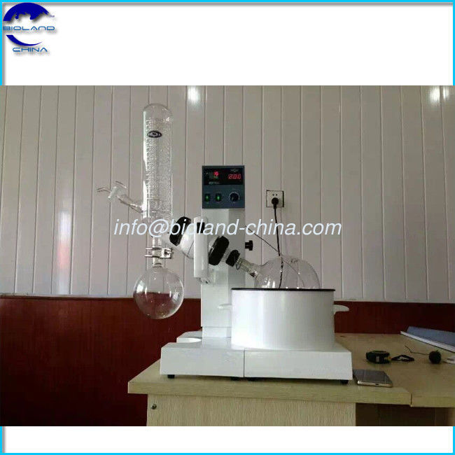 2L lab-scale rotovap/rotary evaporator with vacuum pump and chiller for cannibis refine