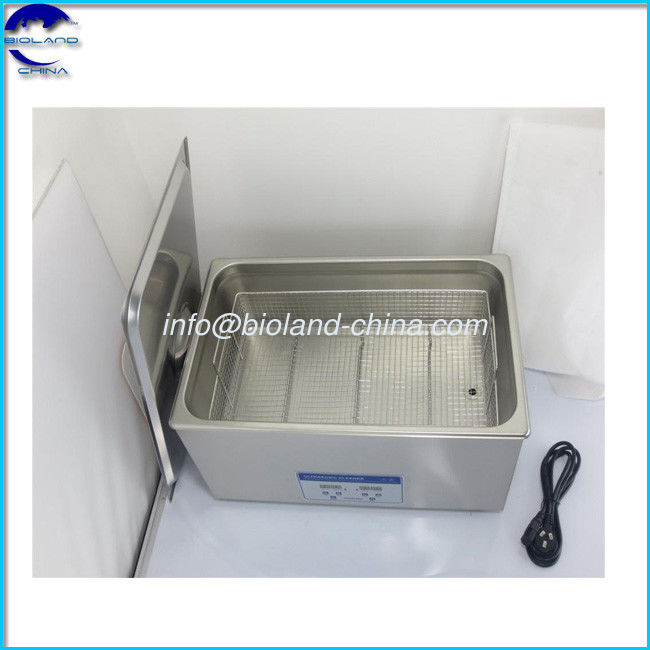 38L Desktop Stainless Steel digital power adjustable Ultrasonic Cleaners for Denture Cleaning