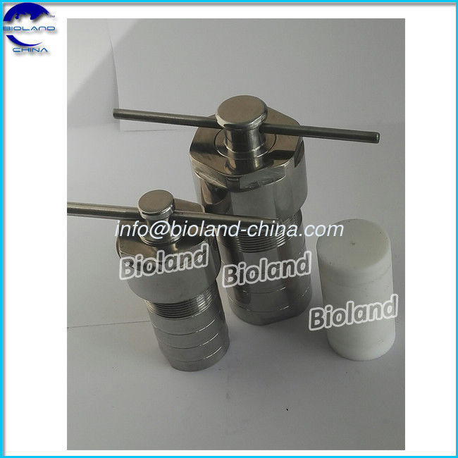.100ml Hydrothermal Synthesis Stainless Steel Reactor, Lab High Pressure and Temperature Autoclave