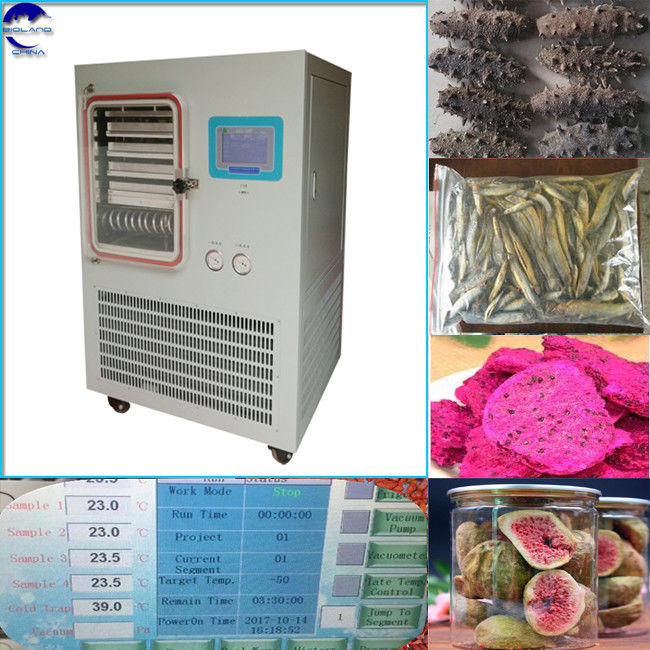 factory price food freeze dryer/vacuum freeze dryer china/freeze drying Lyophilizer Machine for Instant coffee