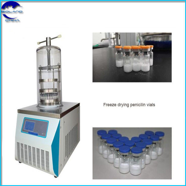 BL-10D Manifold top press Laboratory vacuum Freeze Dryer