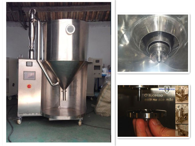 5L BIOLAND high speed centrifugal Spray Dryer For Juice Milk Herb Product